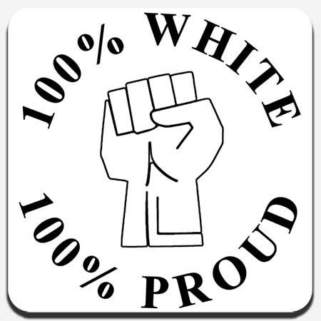 100% White
