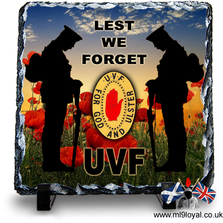 Lest We Forget – UVF
