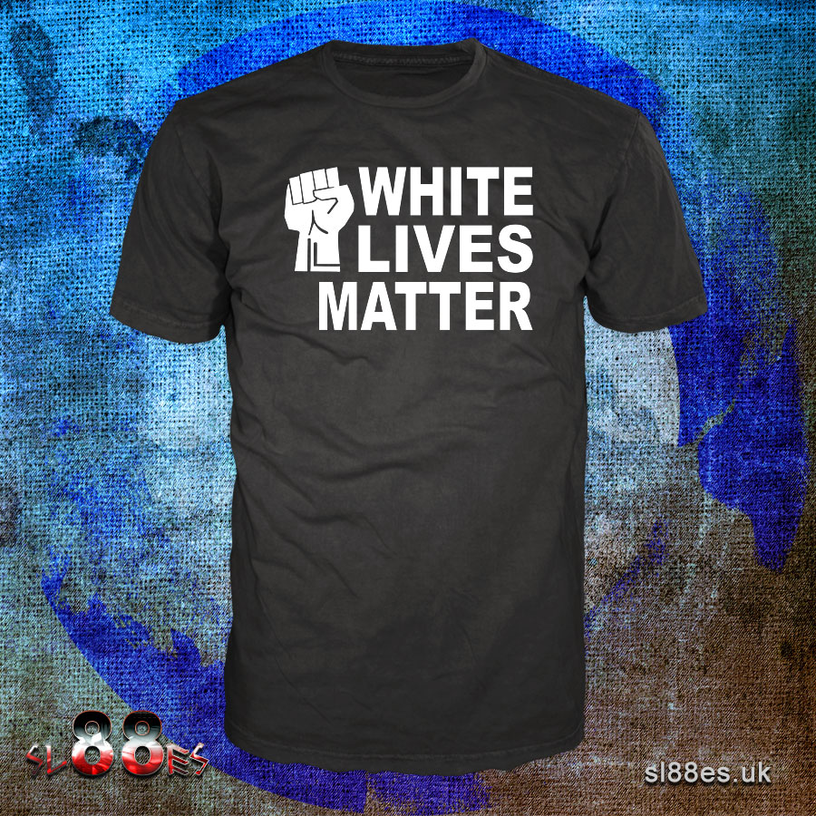 White Lives Matter Fist