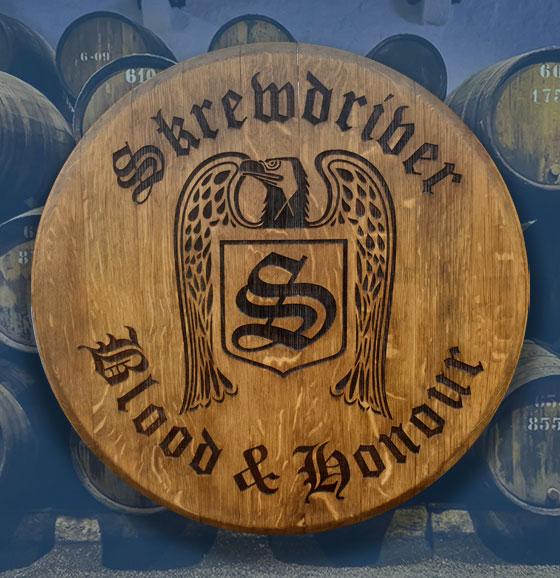 .Whisky Barrel Lids